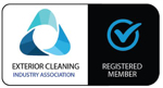 Registered member of the Exterior Cleaning Industry
